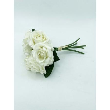 Bouquet- 06 Roses Blaches...