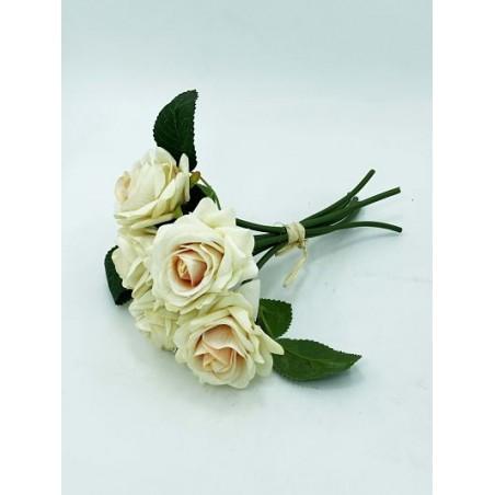 Bouquet- 6 Roses Jaune...