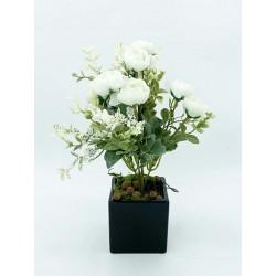 Bouquet- PIvoines Blanches...