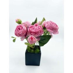 Bouquet-Pivoines Roses 05...