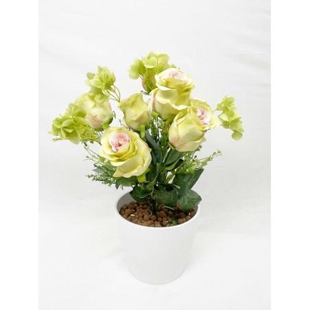 Bouquet- Roses Vertes 06 tiges