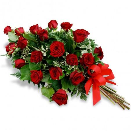 Bouquet coupé Oval Roses 65 cm