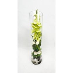Vase Floral en Verre...