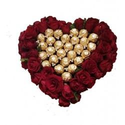 Coffret Coeur Floral et...