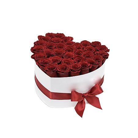 Coffret Coeur Floral  Rouge...