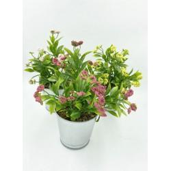 Pot Floral en Zinc Simple