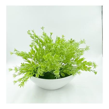Mini Vase Plante verte 1