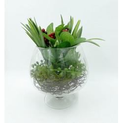 Mini Vase Plante verte 2
