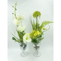 Mini Vase Plante verte 14