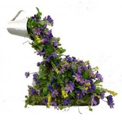 Idée Florale Cascade Mauve