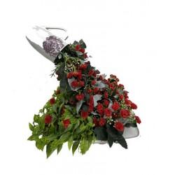 Idée Florale Cascade Rouge