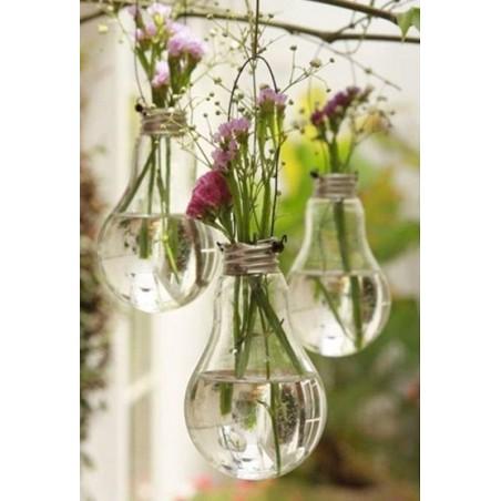 Vase En Verre Ampoule...
