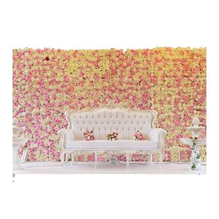 Mur Floral Grandes Fleurs